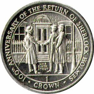 Gibraltar's 1994 221B Baker Street Crowns