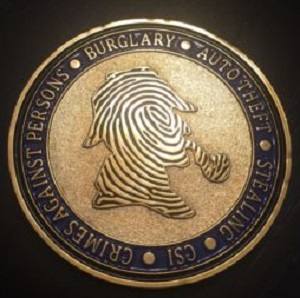Florissant Police Department Challenge Coin Featuring Holmes