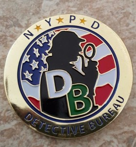 NYPD Detective Bureau #2 OBV