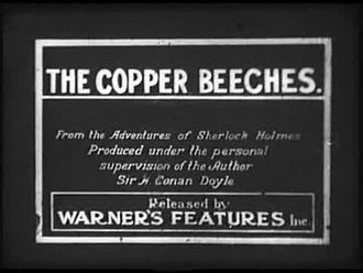 Film: The Copper Beeches (1912)