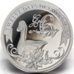 2010 Niue $2 Six Geese a Laying