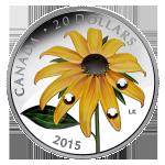 GEM - 2015 Canada $20 Black Eyed Susan