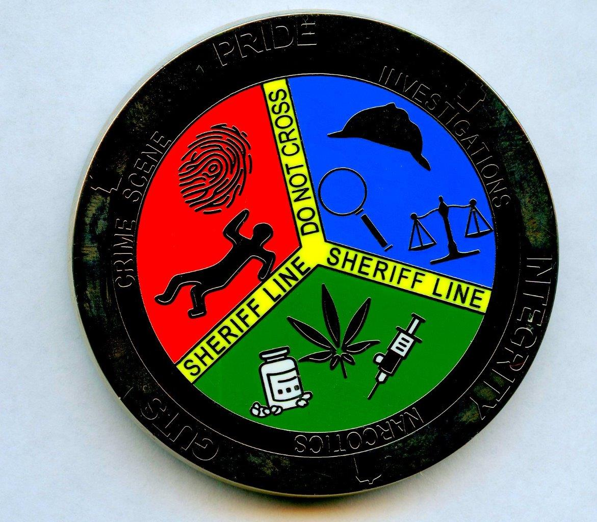 Alabama Sheriff's Office Issues Challenge Coin With Sherlockian Motifs