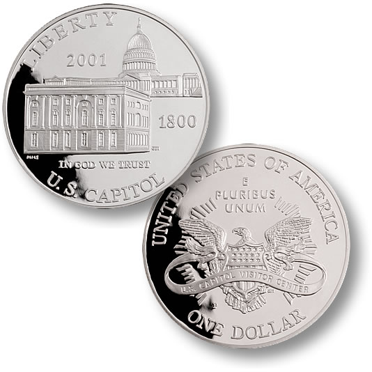 2001 Capitol Visitor Center $1