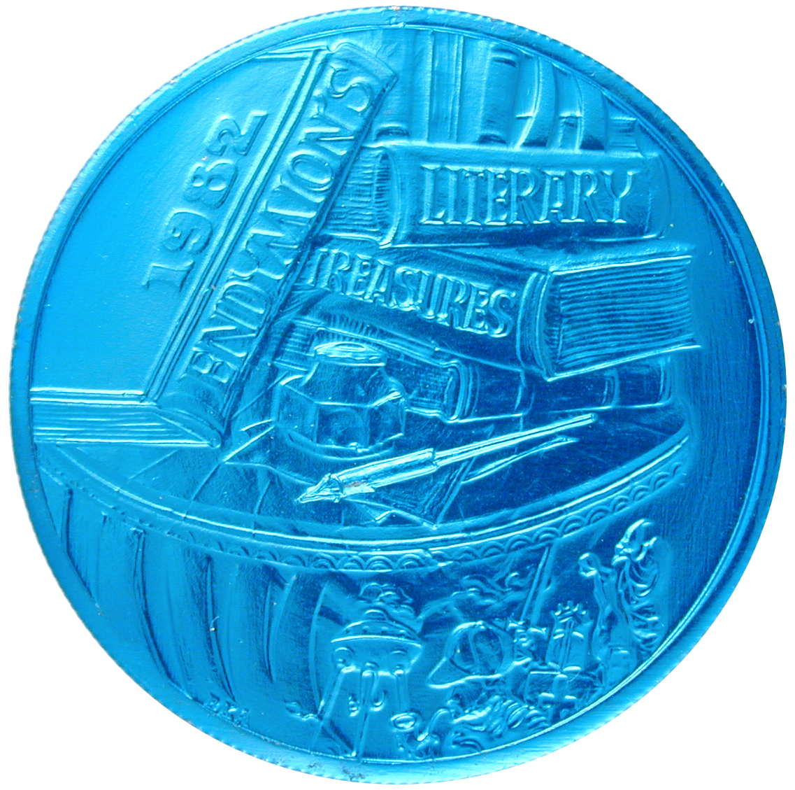 Krewe of Endymion's 1982 Mardi Gras Doubloons