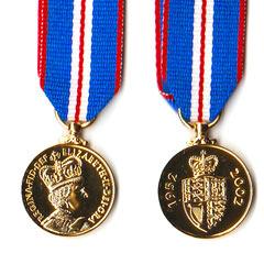 Elizabeth Golden Jubilee Medal