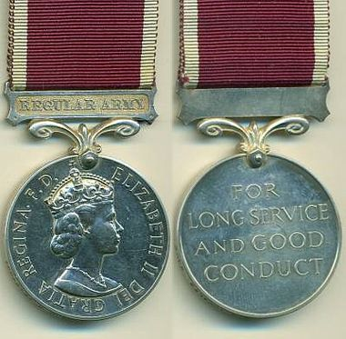 Long Service Good Conduct