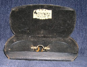 John Openshaw's Pince-Nez (the very one!) ~ WTB FIVE Evidence Box