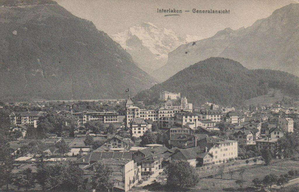 Postcards - Interlaken