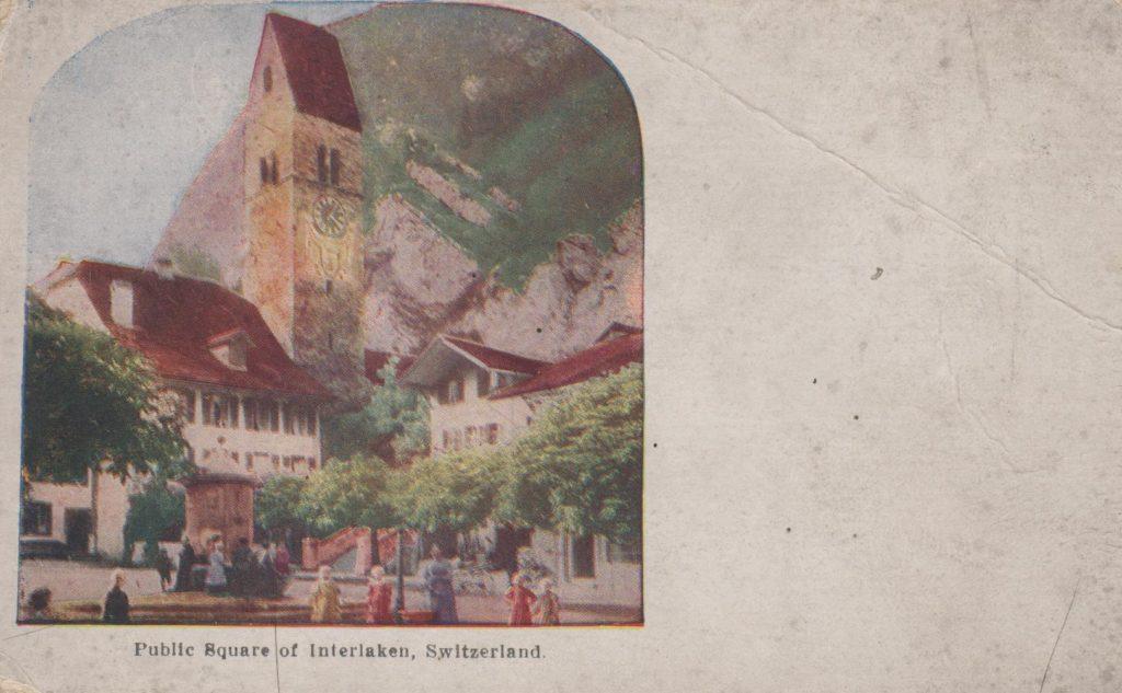 Postcards - Interlaken public Square