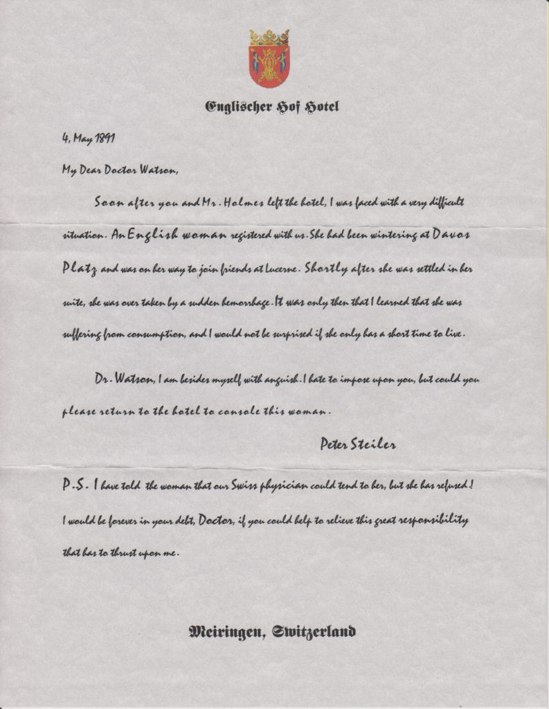 ScamLetterFrom Moriarty
