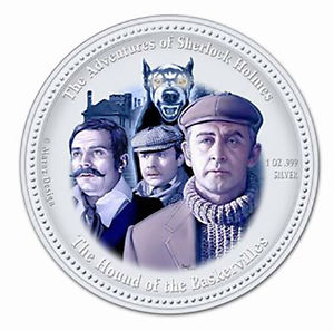 The 2007 Cook Islands Hound of the Baskervilles Coin
