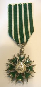 Chevalier of the Order of Arts and Letters
