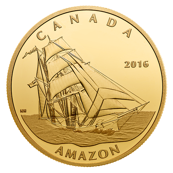 Canada Issues $200 Gold Coin Featuring the Amazon