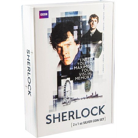 Cover of the 2016 Niue Sherlock 2 Coin Set