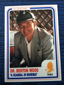 Dr. Benton Wood 1993 Card OBV