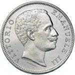 1901 5 Lira Coin of King Victor Emanuel III
