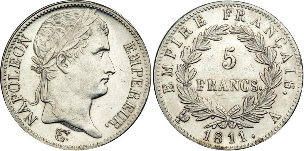 napoleon-1811-5-francs