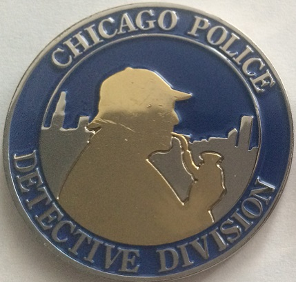 A Second Variety of the Chicago Police Detectives Challenge Coin