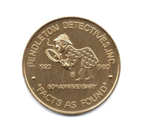 Two Sherlockian Tokens From Pendleton Detectives