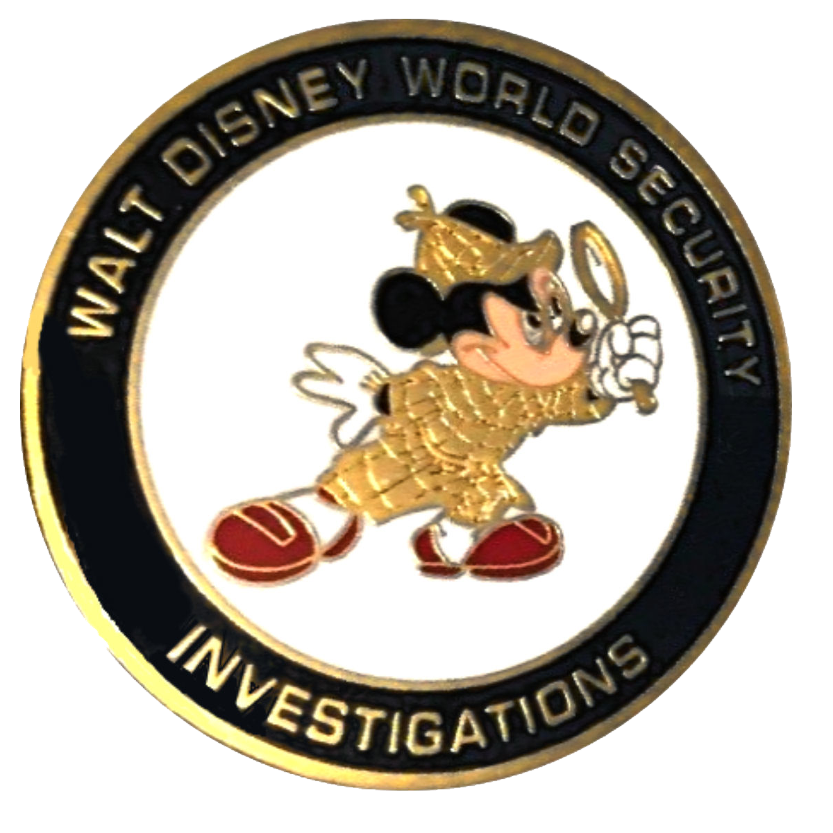 A Sherlockian Challenge Coin from Walt Disney World