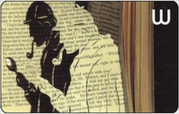 Waterstones Issued Sherlock Holmes Themed Gift Cards