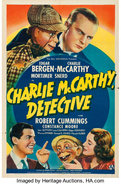 Faces of Holmes: Charlie McCarthy, Detective