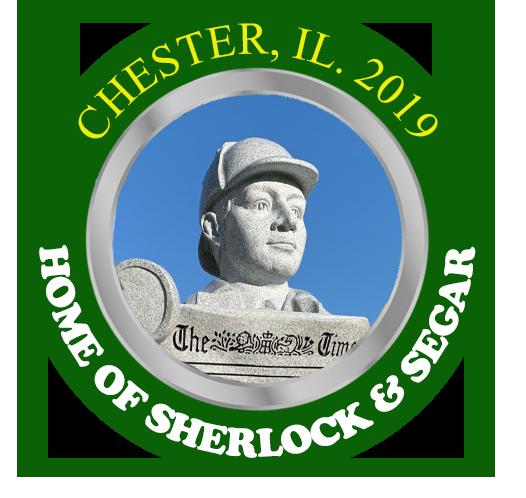 The 2019 Sherlock & Segar Statue Poker Chip