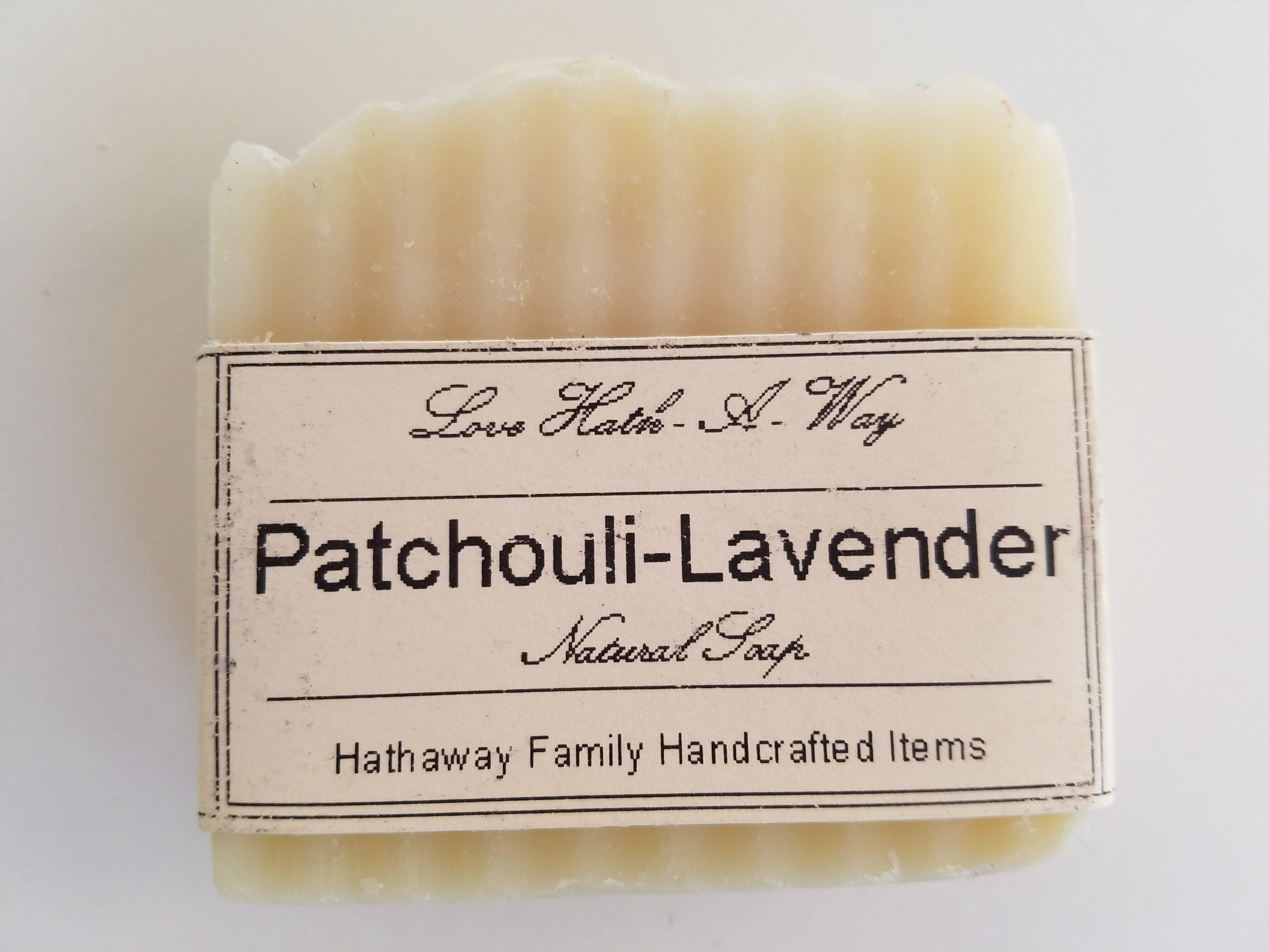 Patchouli-Lavender Soap