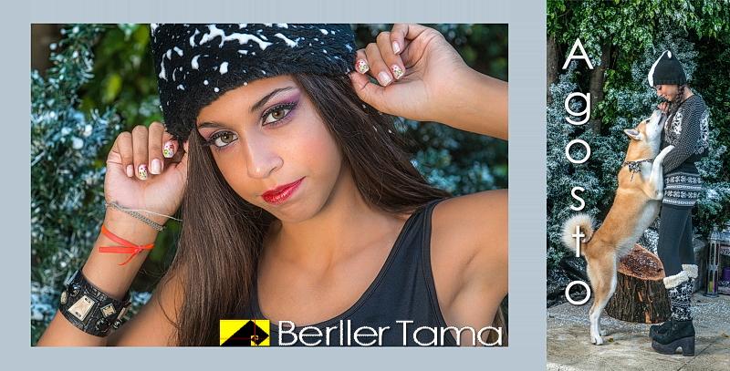 Produccion Fotografica del Book de Mariana por Berller Tama
