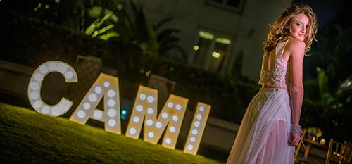 Fantástica fiesta de 15 de CAMI en el Hotel Four Seasons de Buenos Aires.