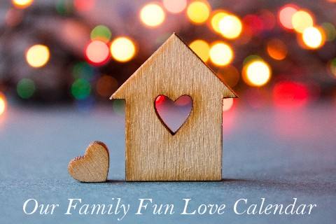 Family Fun Love Calendar Cover Mini