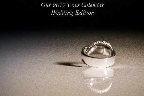 Custom Love Calendar - Wedding & Honeymoon