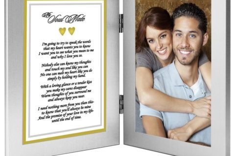 Photo frame with Soulmate Poem