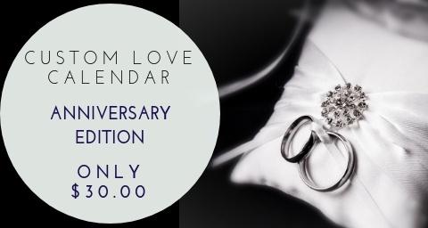 Anniversary Love Calendar