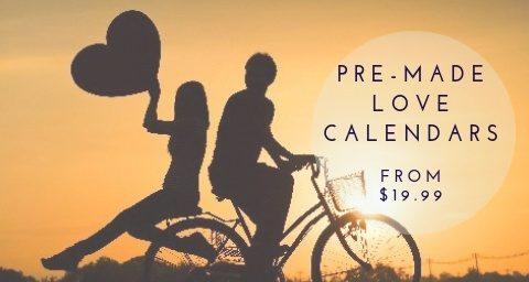 Pre-made Love Calendars