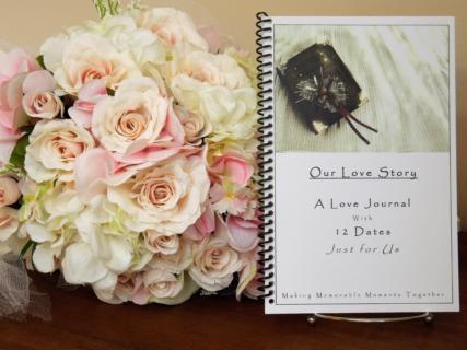 Custom Date-a-Month Love Journal - $15.00