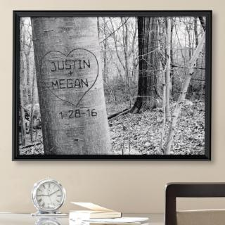Carved Heart Art Canvas starting at $39.99