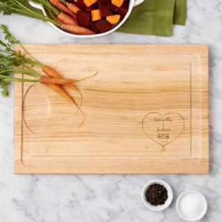 Together Forever Wood Cutting Board$49.99