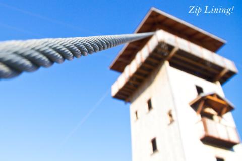 Ziplining!