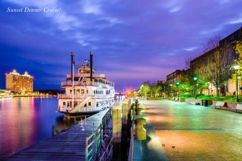 Sunset Dinner Cruise!