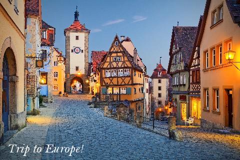 Trip to Europe!