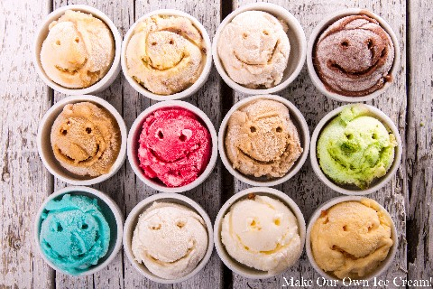 Make Your Own Ice Cream Together!