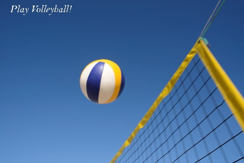 Play Volleyball!