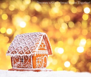 Decorate a Gingerbread House!