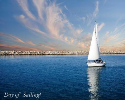 Day of Sailing!