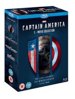 Captain America 3 Movie Collection