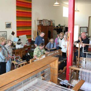 Johansen Textiles Weaving Studio in Mullan