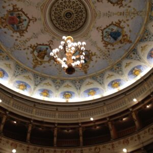 Ceiling in opera house