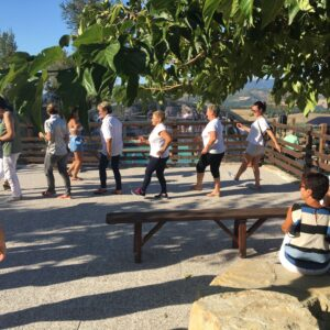 Dancing with Sister City group Cagli